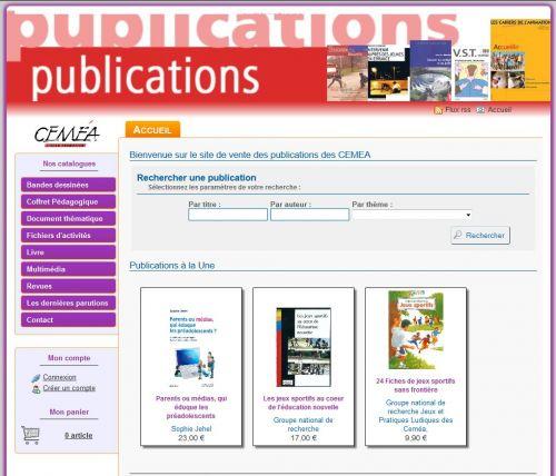 Site des publications des CEMEA